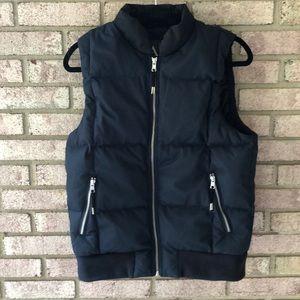 Armani Exchange Down Feather Vest Size S